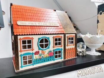 Цветной чайный домик
