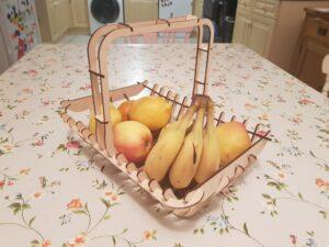макет корзины для продуктов