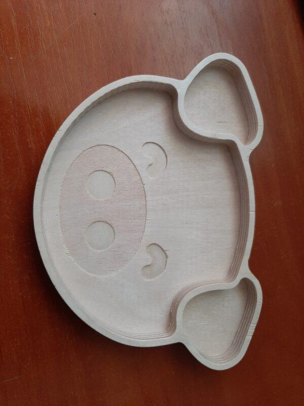 Тарелка для сухофруктов Хрюша