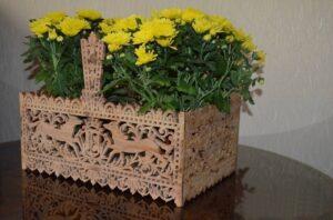 Корзинка для цветов и продуктов