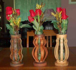 макет вазы для лазерной резки
