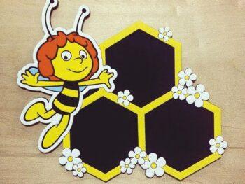 Фоторамка с пчелкой