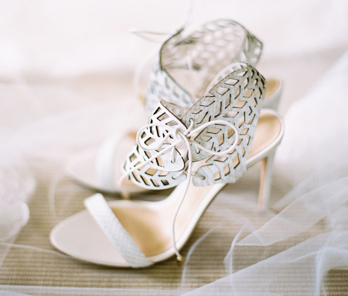 Свадебная туфелька