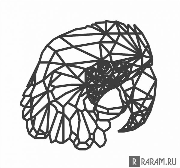 Геометрический попугай