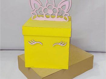 Коробка единорога