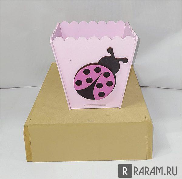 Коробка с божьей коровкой