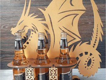 Контейнер для пива с драконом