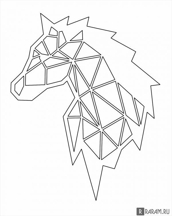 Вектор лошадь 2