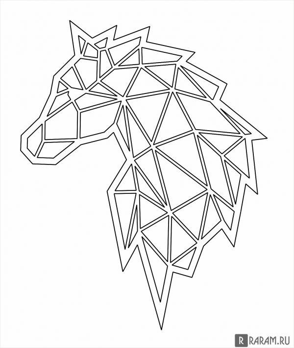 Векторная лошадь