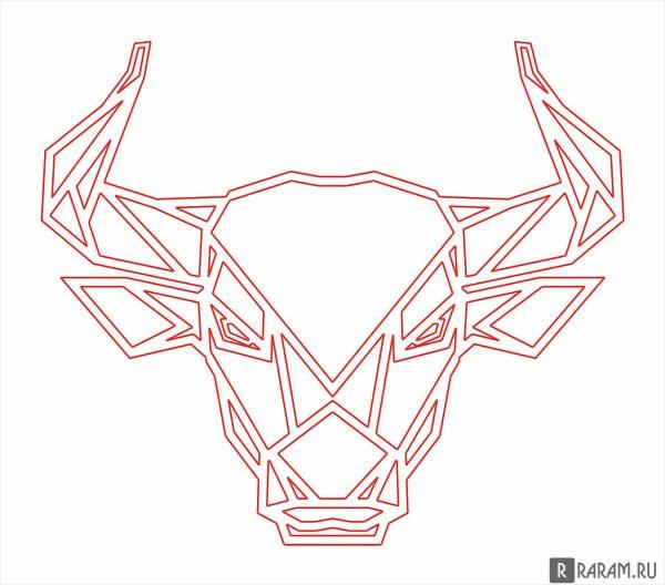 Лицо быка