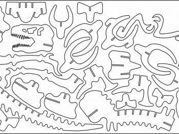 Кость T-Rex