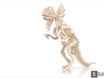 Кости цератопсира на 6 мм
