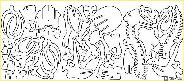 Кости бронтозавра