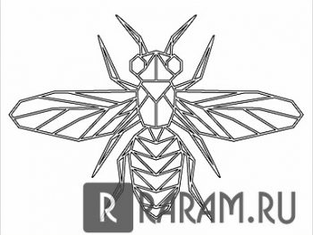 Крылатое насекомое
