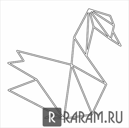 Геометрический лебедь