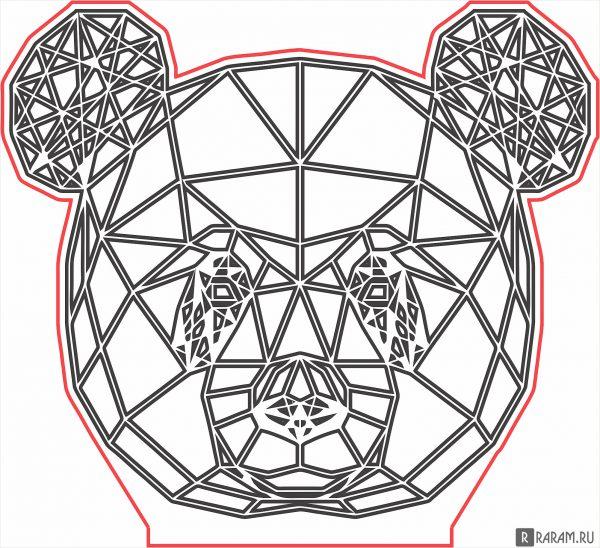 Геометрическая панда