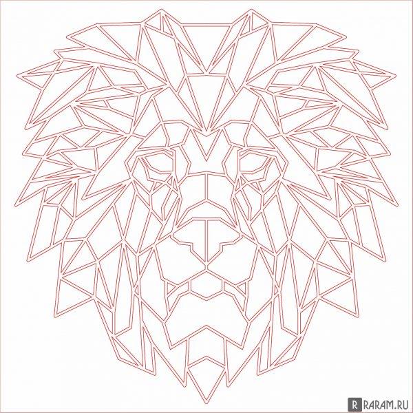 Геометрический лев 2