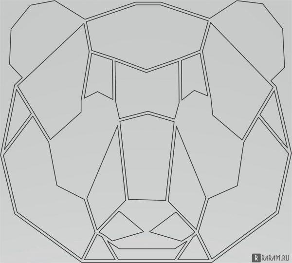 Геометрический медведь 2