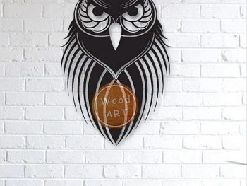 Настенная сова