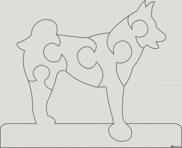 Головоломка с собакой 3