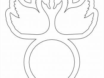Кольцо с лебедями