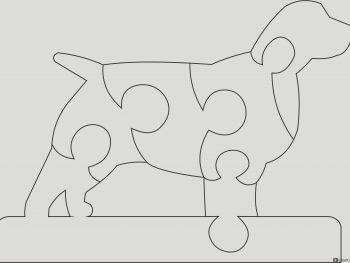 Собака-головоломка