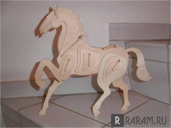 Трехмерная лошадь