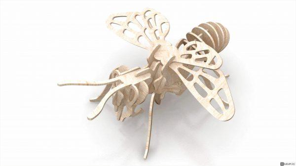 3D пчела