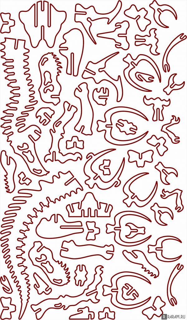 Скелет тираннозавра рекса