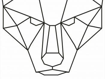 Геометрический медведь