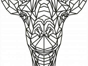Геометрический жираф
