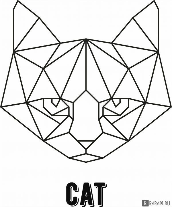 Геометрический кот 3