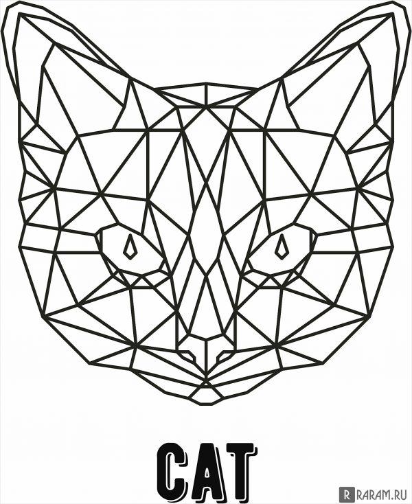 Геометрический кот 2