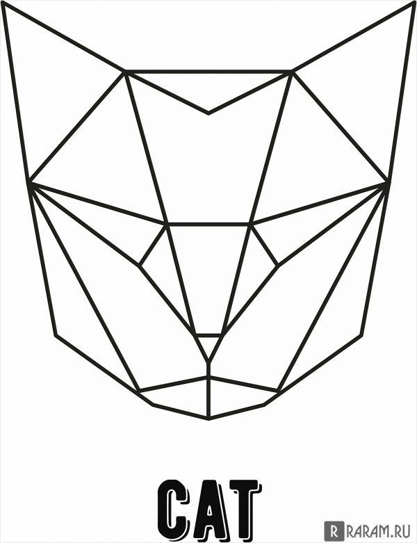 Геометрическая кошка