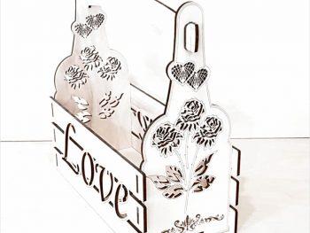 Коробка для бутылочек любви