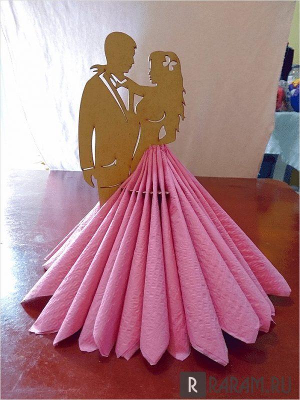 Держатель для свадебных салфеток