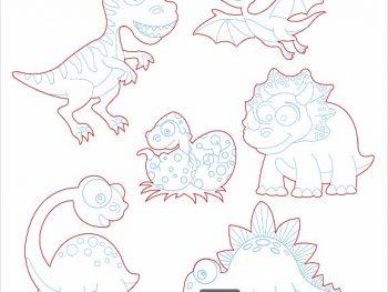 6 видов динозавров
