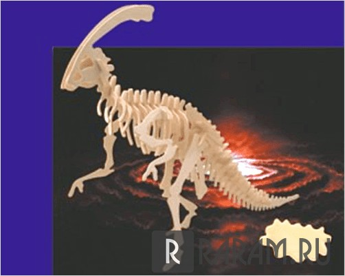 Паразауролоп динозавр