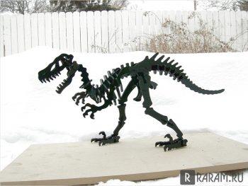Полный скелет TRex