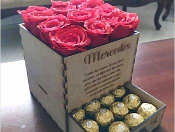 Коробка для цветов и конфет