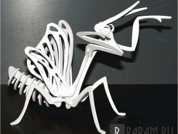Скелет богомола