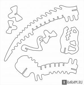 Скелет TRex 2