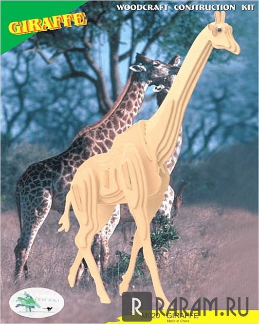 Трехмерный жираф