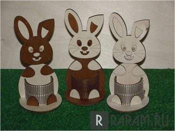 Органайзер с кроликами
