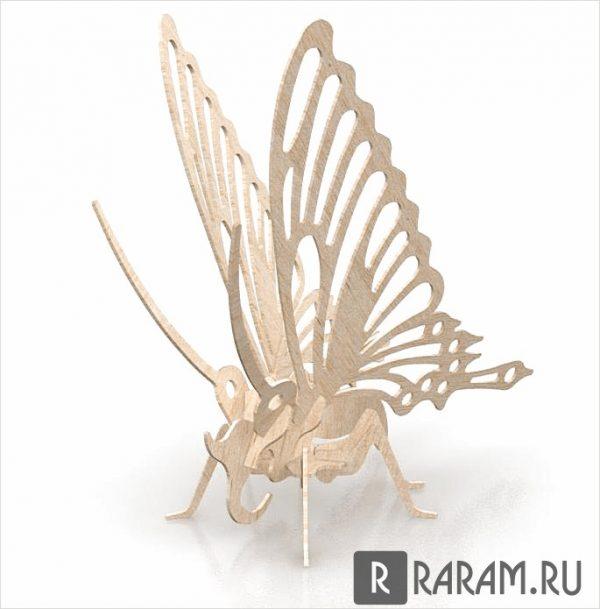 3D бабочка