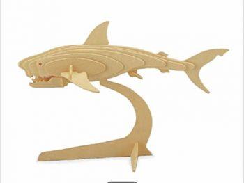 3D акула с подставкой