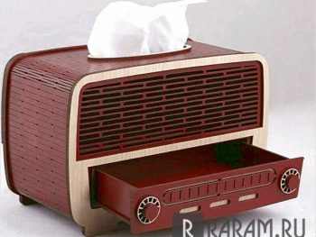 Радио салфетница