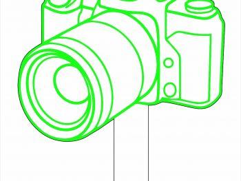 Топпер камера