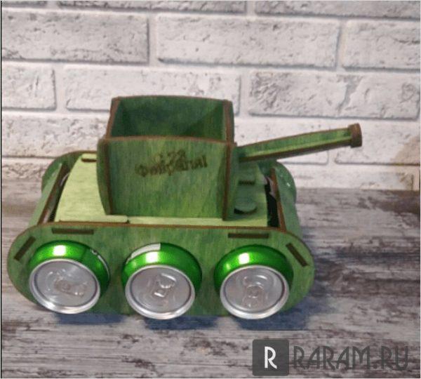 Военный танк для пива