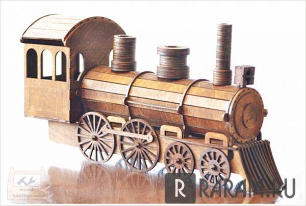 Поезд для бутылок